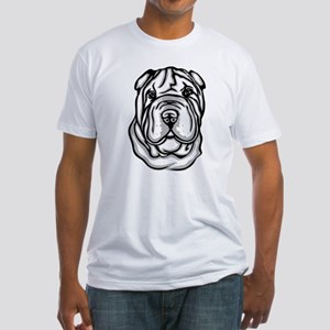 Toy Chinese Shar Pei Fitted T-Shirt
