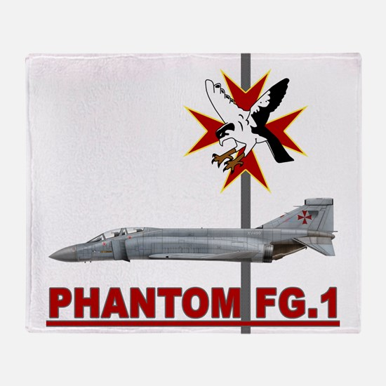Funny Air wing Throw Blanket