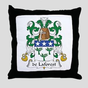 de Laforest Throw Pillow