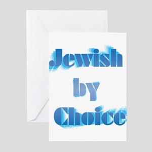 Jewish by Choice Greeting Cards (Pk of 10)