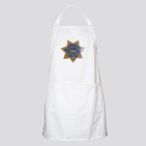 Inspector San Francisco Police BBQ Apron