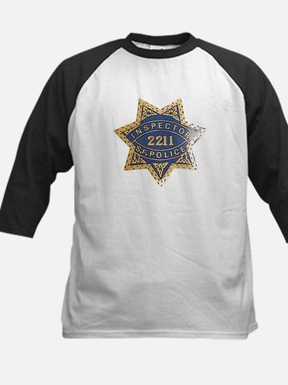 Inspector San Francisco Police Kids Baseball Jerse