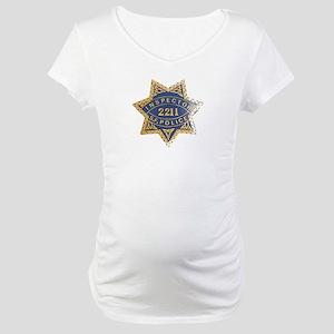 Inspector San Francisco Police Maternity T-Shirt