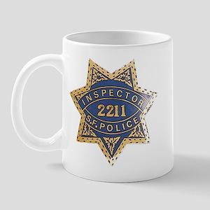 Inspector San Francisco Police Mug