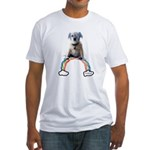Fitted Chompo on Rainbow T-Shirt