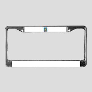 Blonde Grad License Plate Frame