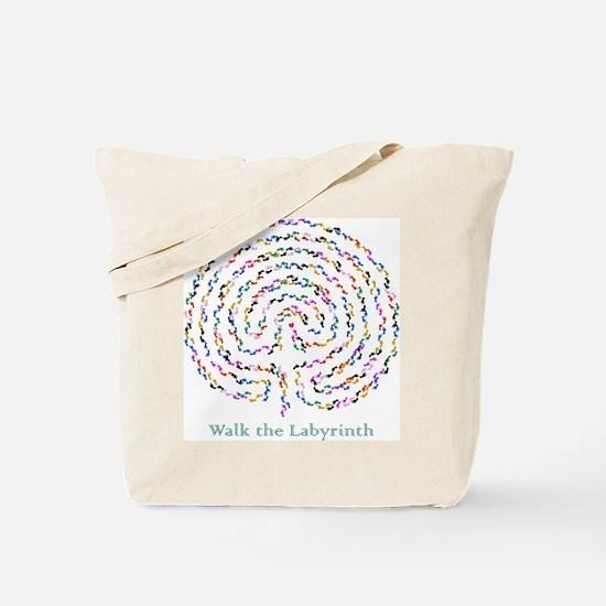 Labyrinth by Nancy Vala Tote Bag