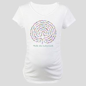Labyrinth by Nancy Vala Maternity T-Shirt