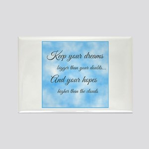 Keep Your Dreams... Rectangle Magnet