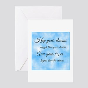 Keep Your Dreams... Greeting Card