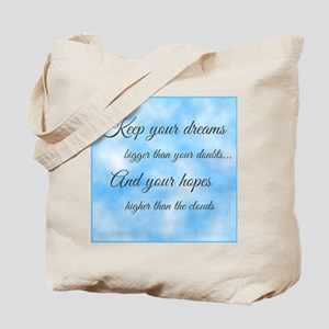 Keep Your Dreams... Tote Bag