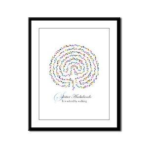 Labyrinth by Nancy Vala Framed Panel Print