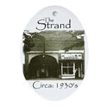 1930s Strand Holiday Oval Ornament