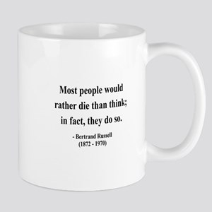 Bertrand Russell 15 Mug