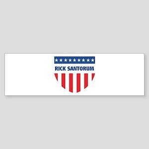 RICK SANTORUM 08 (emblem) Bumper Sticker