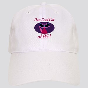Cool Cat 85th Birthday Cap