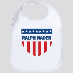 RALPH NADER 08 (emblem) Bib