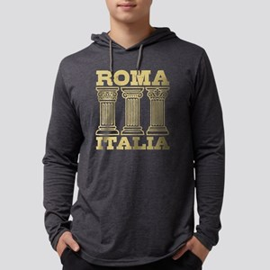 Roma Italia Mens Hooded Shirt