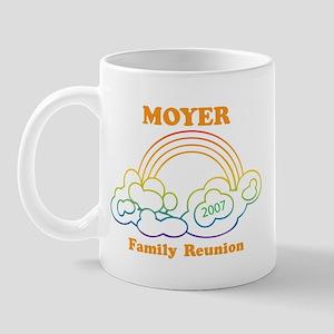 MOYER reunion (rainbow) Mug
