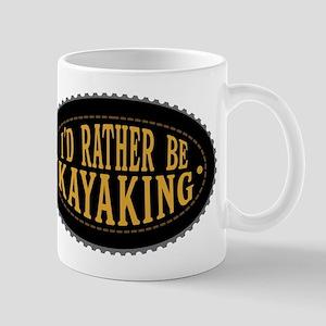 I'd Rather Be Kayaking Mugs