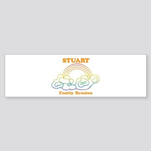 STUART reunion (rainbow) Bumper Sticker