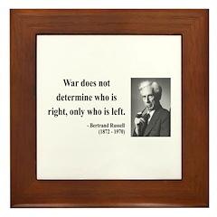 Bertrand Russell 1 Framed Tile