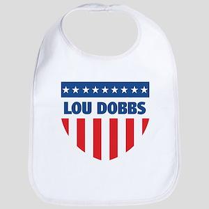 LOU DOBBS 08 (emblem) Bib