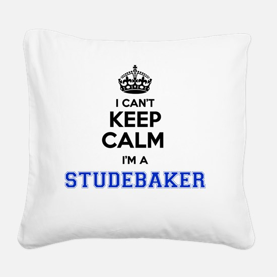 Unique Studebaker Square Canvas Pillow