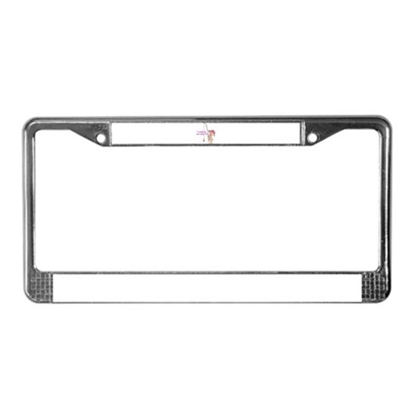 Caught My First Fish License Plate Frame by dreamup