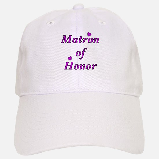 Matron of Honor Simply Love Baseball Baseball Cap