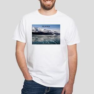 Alaska Americasbesthistory.com White T-Shirt