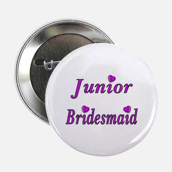 "Junior Bridesmaid Simply Love 2.25"" Button"