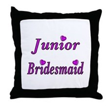 Junior Bridesmaid Simply Love Throw Pillow