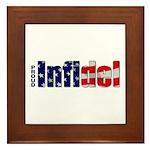 Proud Infidel Framed Tile