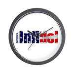 Proud Infidel Wall Clock