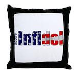 Proud Infidel Throw Pillow