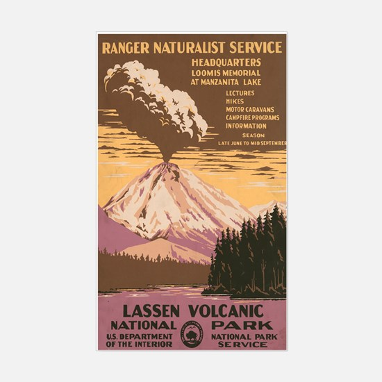LASSEN NATIONAL PARK vinyl sticker