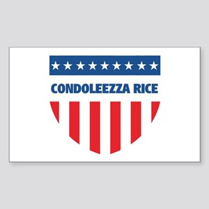 CONDOLEEZZA RICE 08 (emblem) Rectangle Sticker