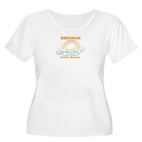 BRENNAN reunion (rainbow) Women's Plus Size Scoop