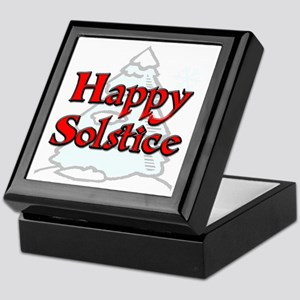 Happy Solstice Keepsake Box