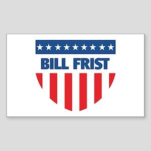 BILL FRIST 08 (emblem) Rectangle Sticker