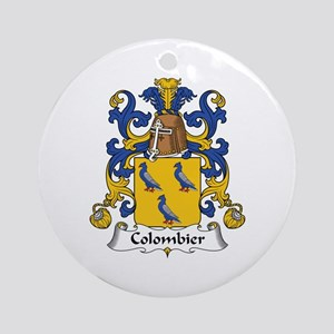 Colombier Ornament (Round)
