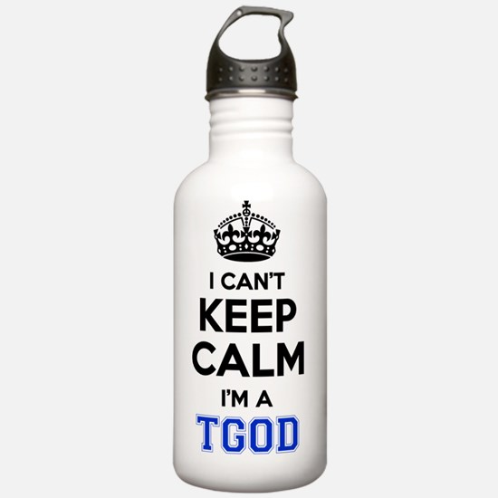 Cute Wiz khalifa tgod Water Bottle