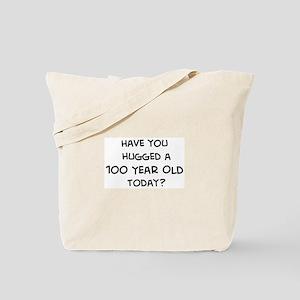 Hugged a 100 Year Old Tote Bag