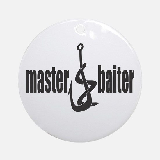 Master Baiter Ornament (Round)