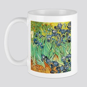 VanGogh Irises Coffee Mug