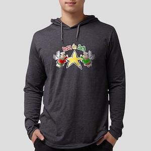 Cute Angel Mens Hooded Shirt