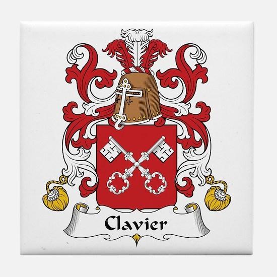 Clavier Tile Coaster