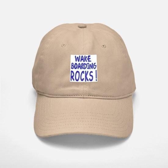 Wake Boarding Rocks ! Baseball Baseball Cap