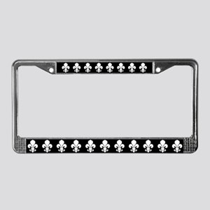 fleur-de-lis_lpu License Plate Frame